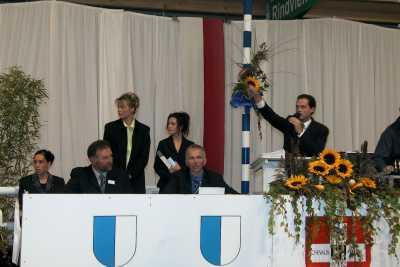 Fohlenauktion Ruswil 2000