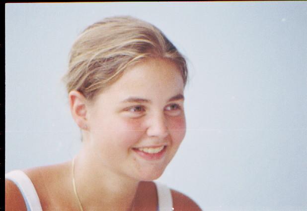 Schwester Helen, gelernte Baecker-Konditorin, 19.7.1983